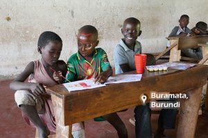 copii africani la scoala