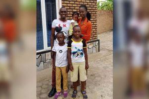 christian african family